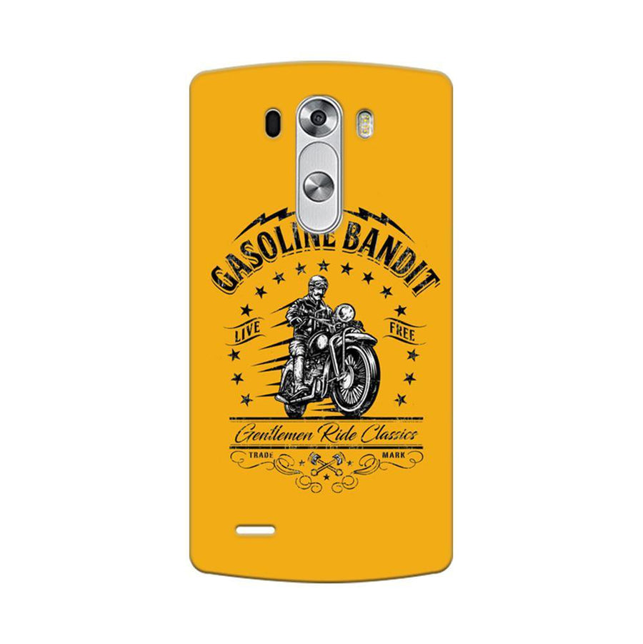 Mangomask LG G3 Stylus Mobile Phone Case Back Cover Custom Printed Designer Series Rider Motor Cycle