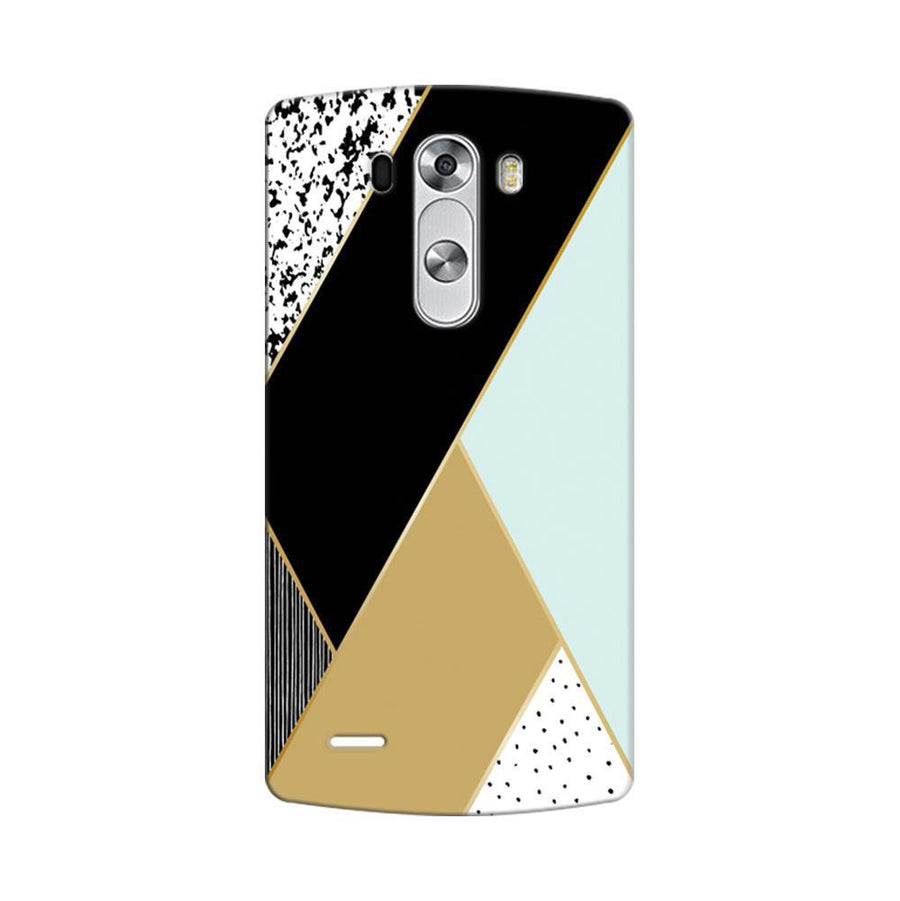 Mangomask LG G3 Stylus Mobile Phone Case Back Cover Custom Printed Designer Series Zig Zag One