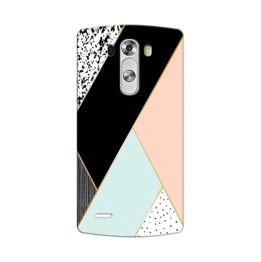 Mangomask LG G3 Stylus Mobile Phone Case Back Cover Custom Printed Designer Series Zig Zag Two