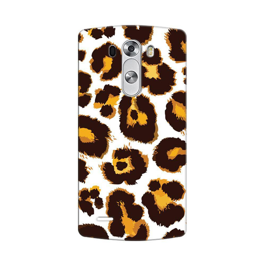 Mangomask LG G3 Stylus Mobile Phone Case Back Cover Custom Printed Designer Series Tiger Cheetah Animal Print