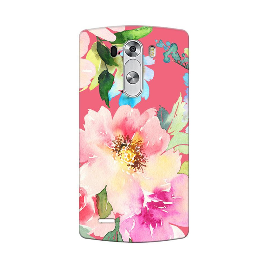 Mangomask LG G3 Stylus Mobile Phone Case Back Cover Custom Printed Designer Series Spring Floral