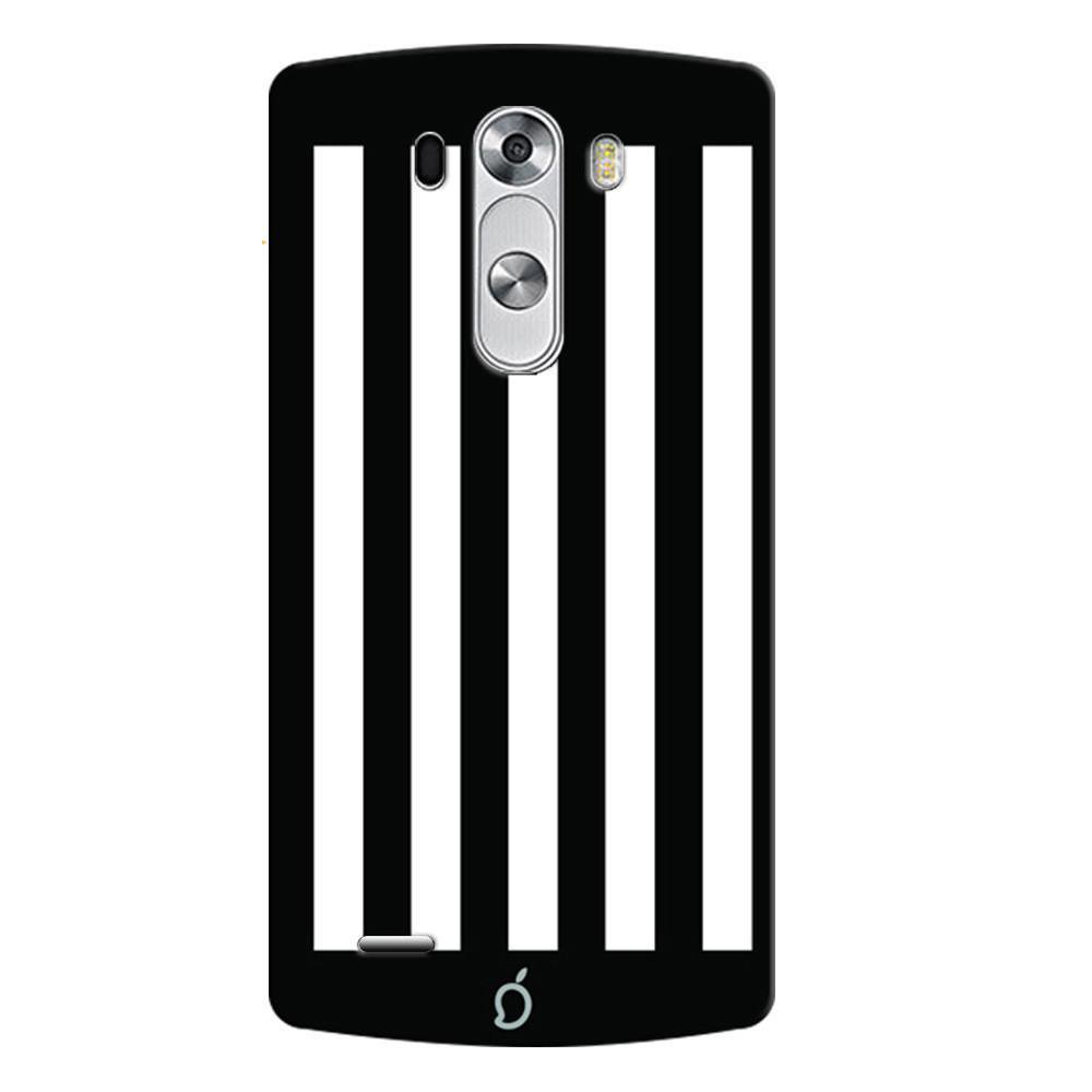 classic fit f0745 906a8 Mangomask LG G3 Stylus Mobile Phone Case Back Cover Custom Printed Neon  Series Black Striped Seven
