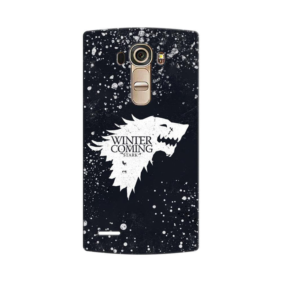 Mangomask LG G4 Mobile Phone Case Back Cover Custom Printed Designer Series Winter Is Coming Game Of Thrones House Stark