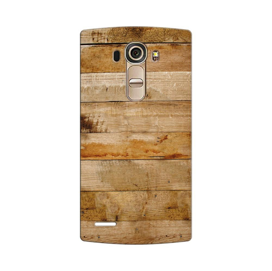 Mangomask LG G4 Mobile Phone Case Back Cover Custom Printed Designer Series Teak Wood