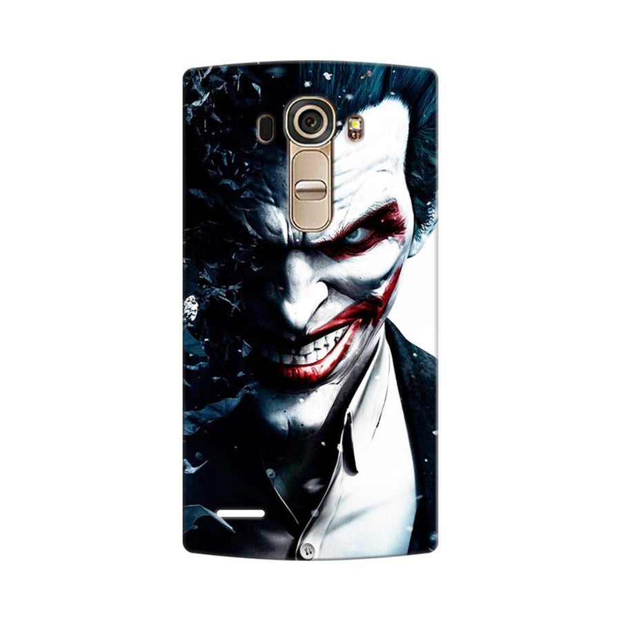 Mangomask LG G4 Mobile Phone Case Back Cover Custom Printed Designer Series Red Eye Joker