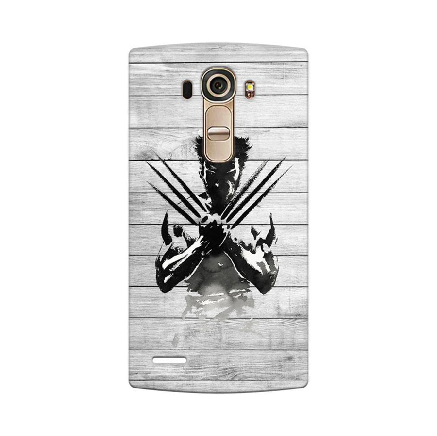 Mangomask LG G4 Mobile Phone Case Back Cover Custom Printed Designer Series Wolverine