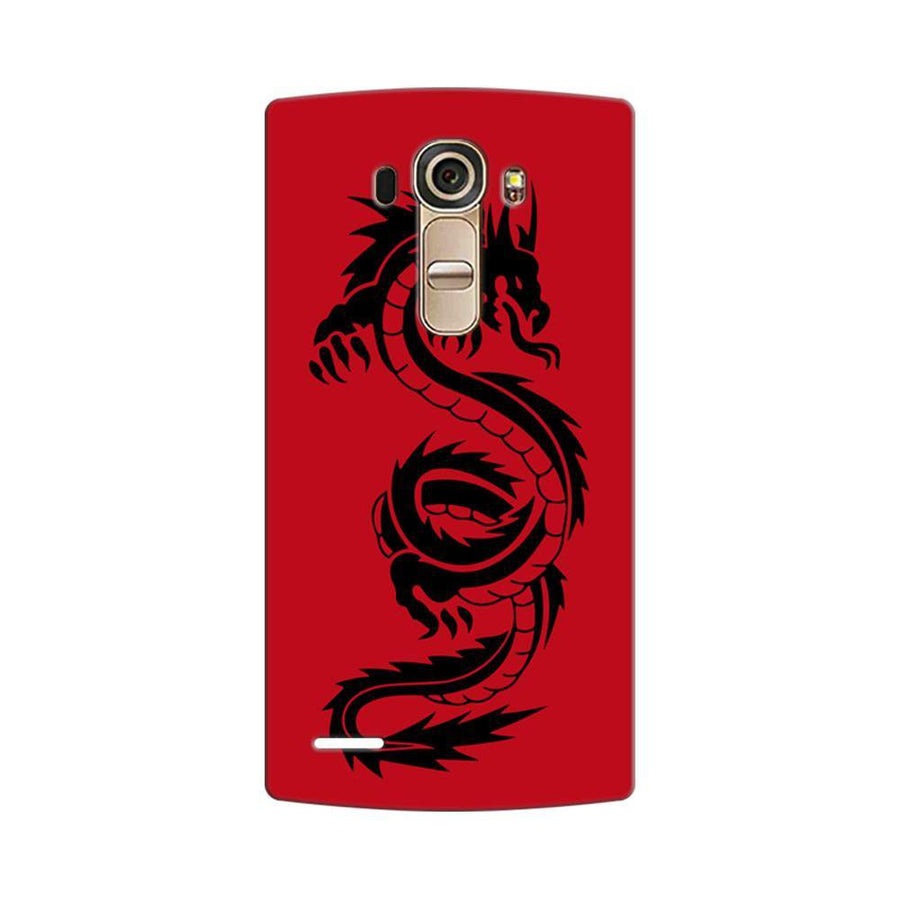 Mangomask LG G4 Mobile Phone Case Back Cover Custom Printed Designer Series Red Dragon