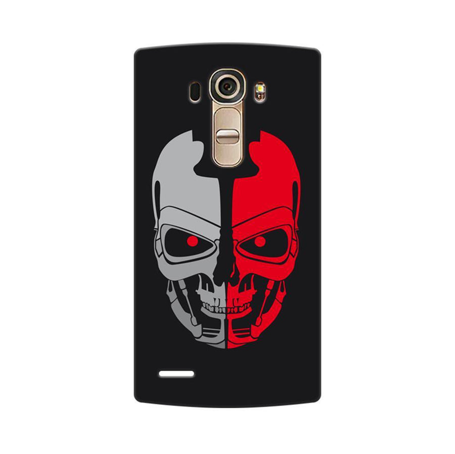 Mangomask LG G4 Mobile Phone Case Back Cover Custom Printed Designer Series Scary Red Skull