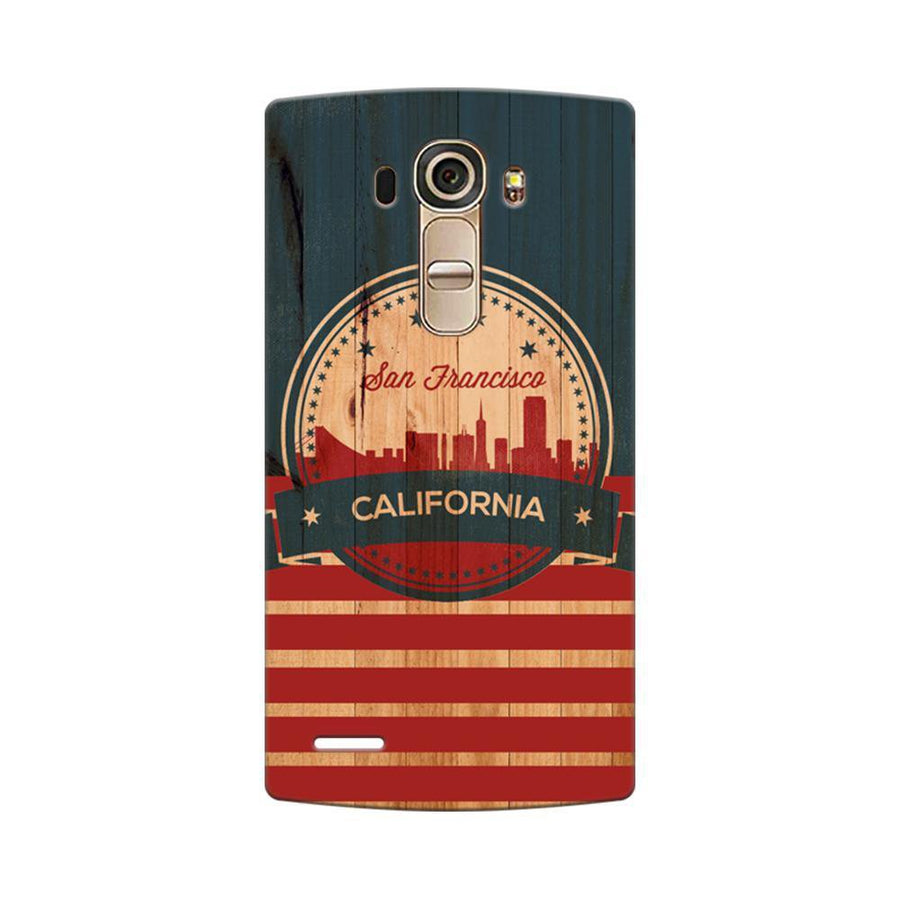 Mangomask LG G4 Mobile Phone Case Back Cover Custom Printed Designer Series San Francisco California