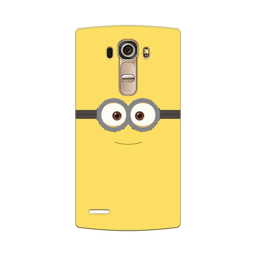 Mangomask LG G4 Mobile Phone Case Back Cover Custom Printed Designer Series Minions On Despicable Me