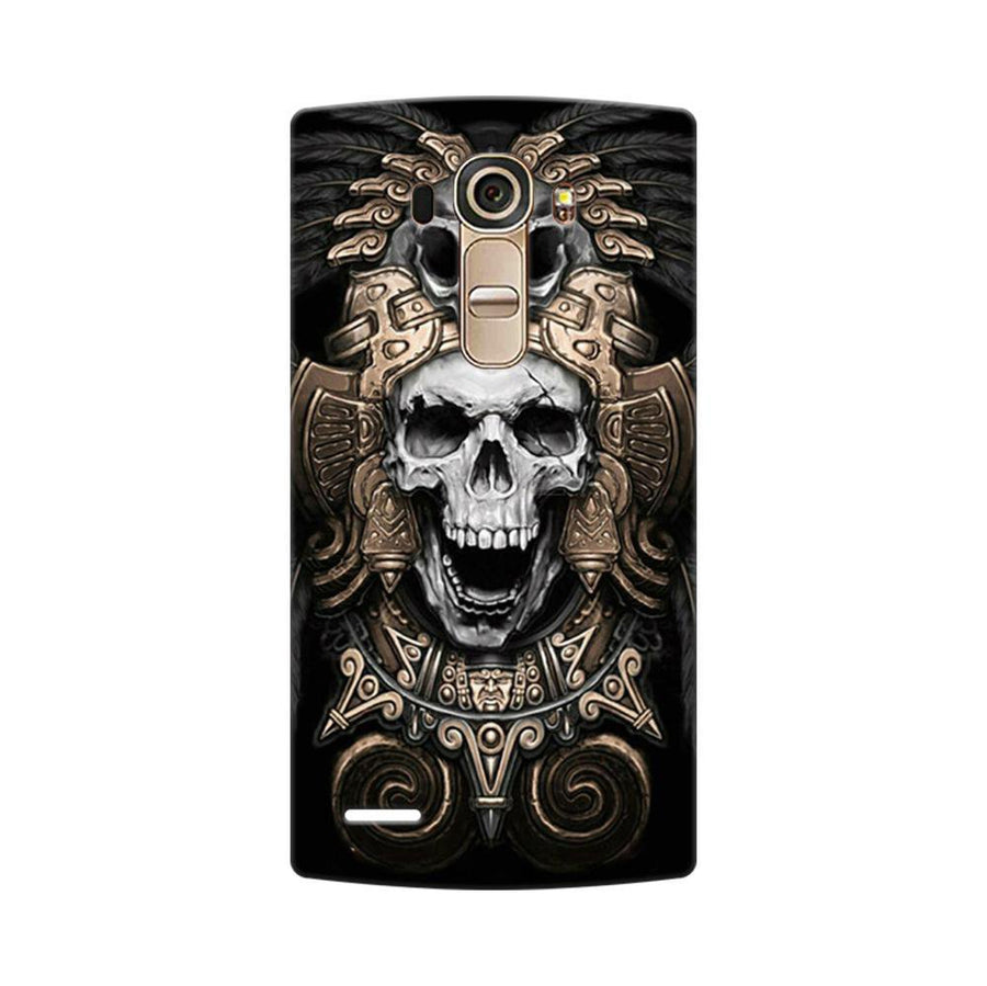 Mangomask LG G4 Mobile Phone Case Back Cover Custom Printed Designer Series Skull Crown