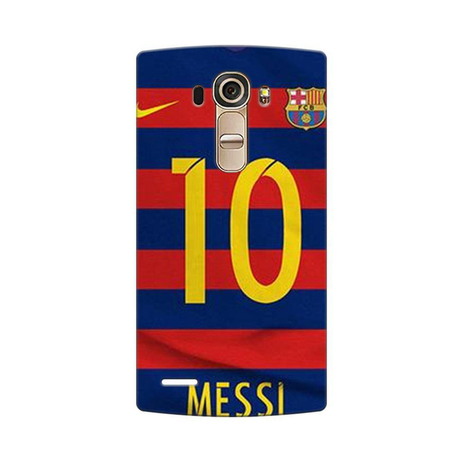 Mangomask LG G4 Mobile Phone Case Back Cover Custom Printed Designer Series Soccer Messi One