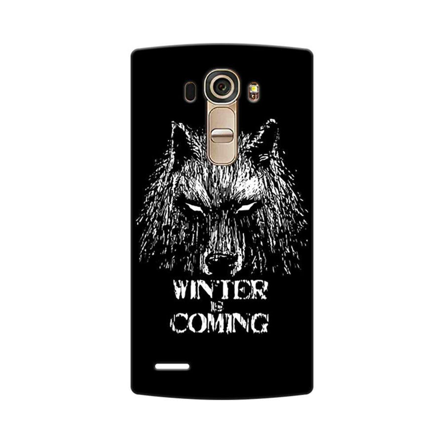 Mangomask LG G4 Mobile Phone Case Back Cover Custom Printed Designer Series Wolf Winter Is Coming Game Of Thrones (Got) House Stark