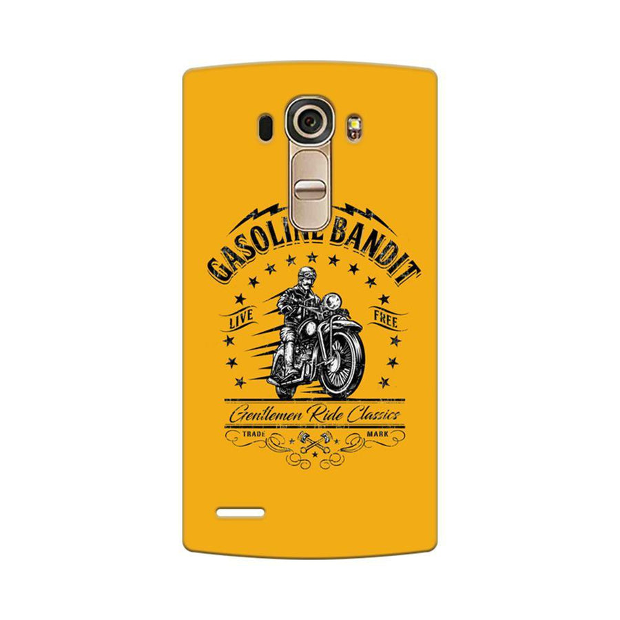 Mangomask LG G4 Mobile Phone Case Back Cover Custom Printed Designer Series Rider Motor Cycle