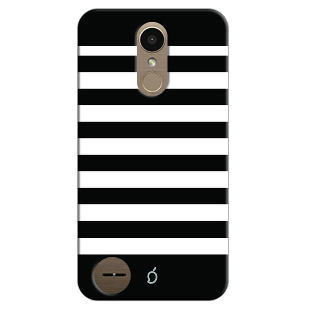 best service 64411 9016e Mangomask LG K10 2017 Mobile Phone Case Back Cover Custom Printed Neon  Series Black Striped Six