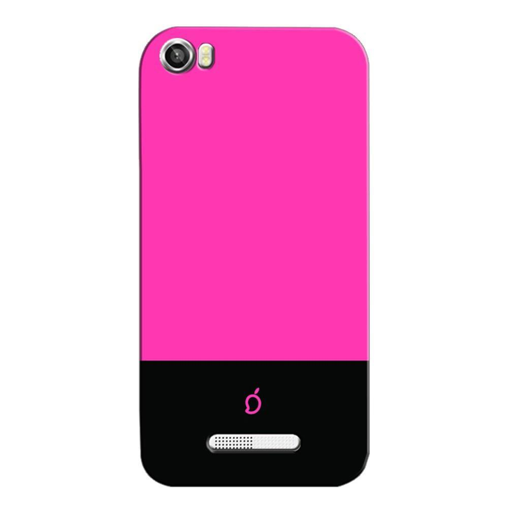 new products a4764 a981b Mangomask Lava Iris X8 Mobile Phone Case Back Cover Custom Printed Neon  Series Brink pink Striped Three