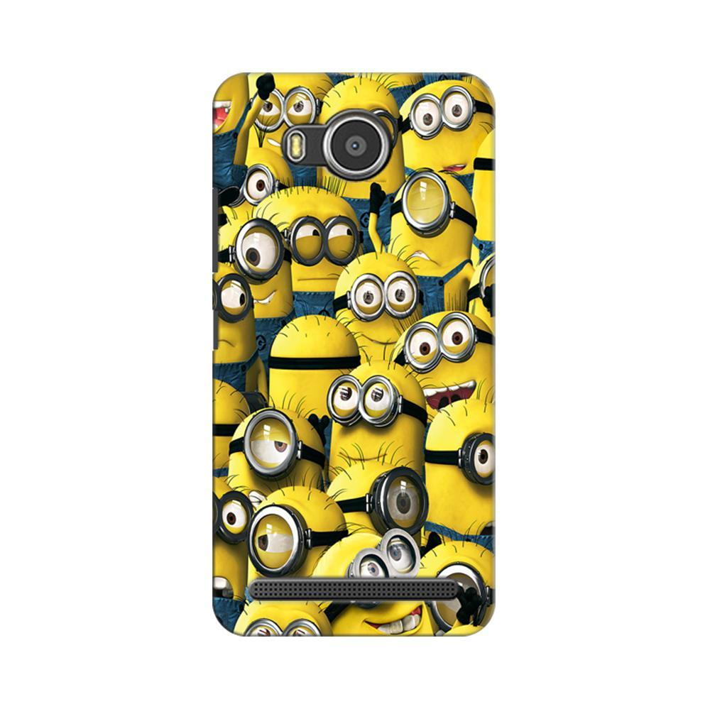 Mangomask Lenovo A7700 Mobile Phone Case Back Cover Custom Printed Designer Series Funny Minions Despicable Me