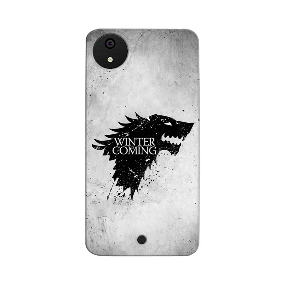 brand new a8fb4 4dc8d Mangomask Micromax Canvas A1 Mobile Phone Case Back Cover Custom Printed  Designer Series White Winter Is Coming Game Of Throne (Got) House Stark