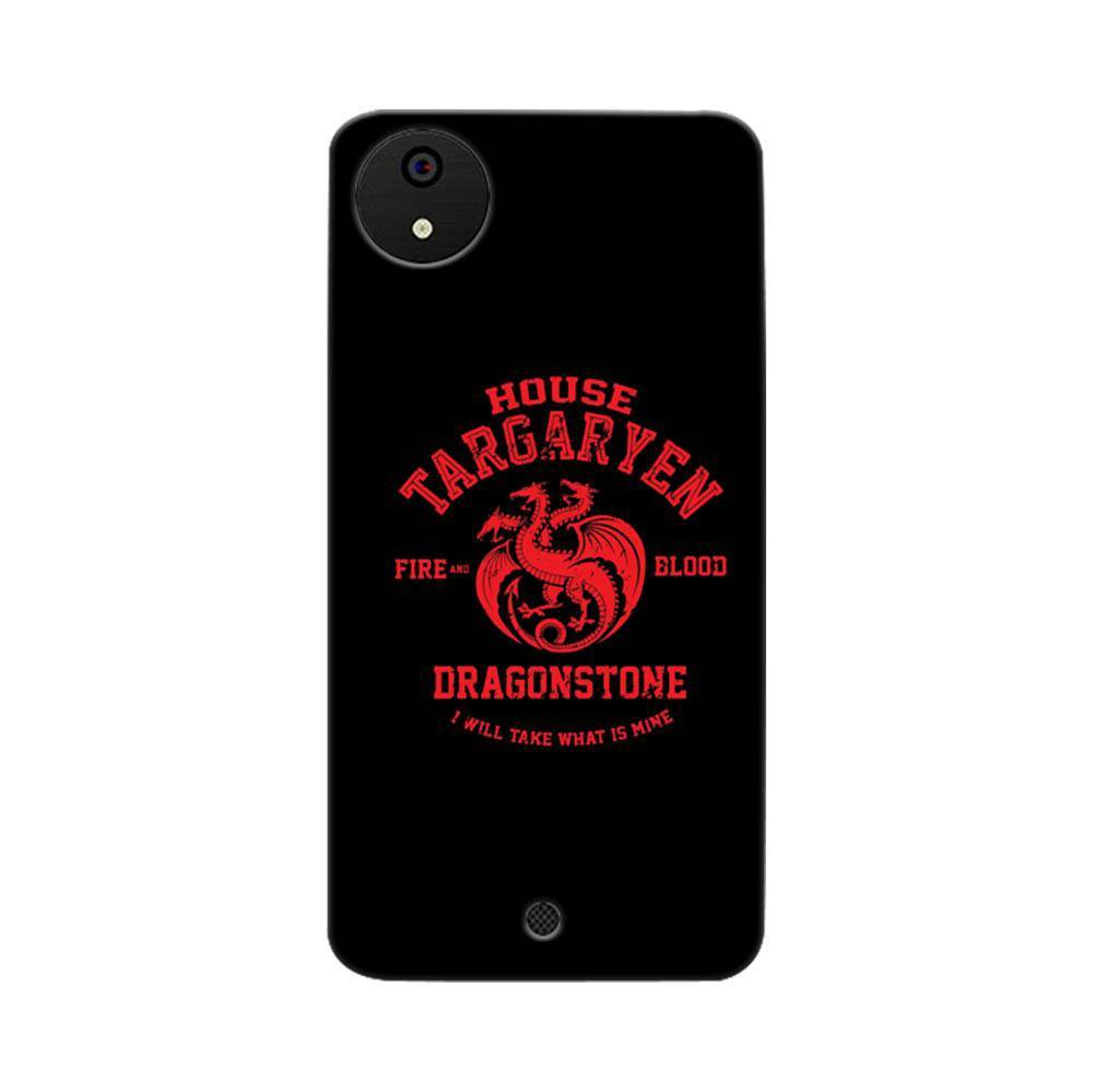 cheap for discount 764b3 1f952 Mangomask Micromax Canvas A1 Mobile Phone Case Back Cover Custom Printed  Designer Series Game Of Thrones (Got) House Targaryen