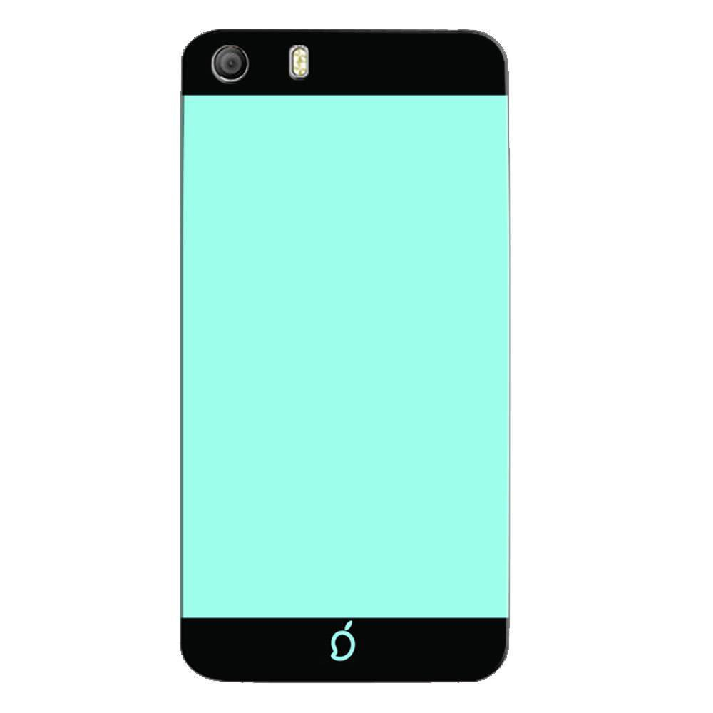 classic fit ee2a4 5ef60 Mangomask Micromax Canvas Knight 2 E471 Mobile Phone Case Back Cover Custom  Printed Neon Series Electric Blue Striped Two