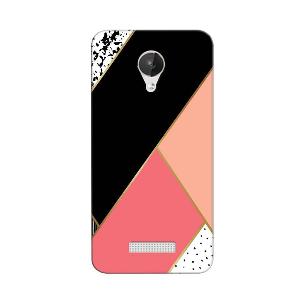 on sale ddec1 ea6c3 Mangomask Micromax Canvas Spark Q380 Mobile Phone Case Back Cover Custom  Printed Designer Series Black And Pink Cute Pattern