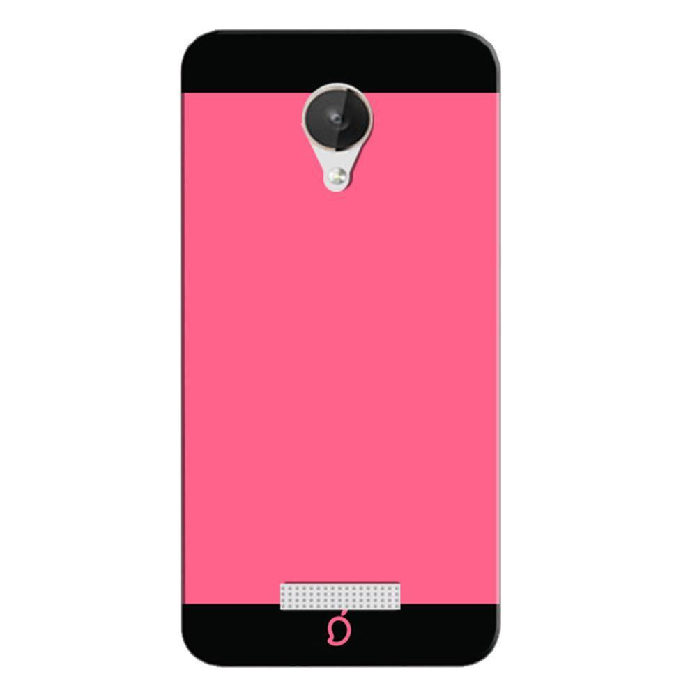 brand new 2a056 2d819 Mangomask Micromax Canvas Spark Q380 Mobile Phone Case Back Cover Custom  Printed Neon Series Coral Pink Striped Two