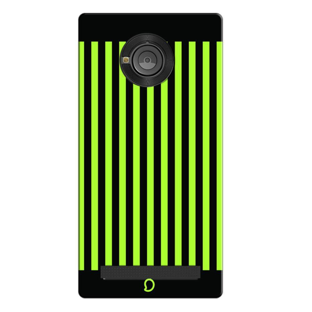 new styles 7f30d 1744d Mangomask Micromax Yunique Mobile Phone Case Back Cover Custom Printed Neon  Series Inchworm Green Striped Eight