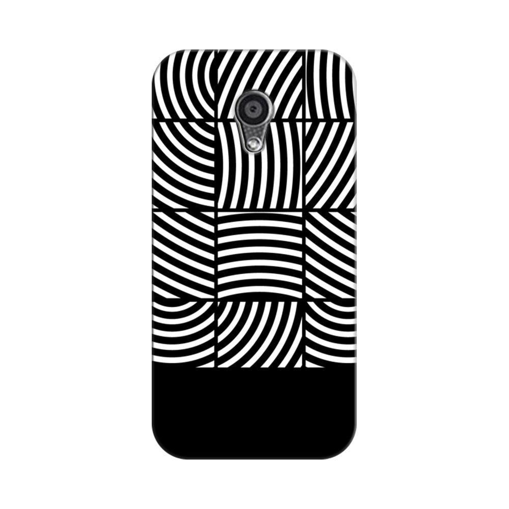 watch dd497 24ca9 Mangomask Motorola Moto G2 Mobile Phone Case Back Cover Custom Printed  Designer Series Black And White Boxed Pattern