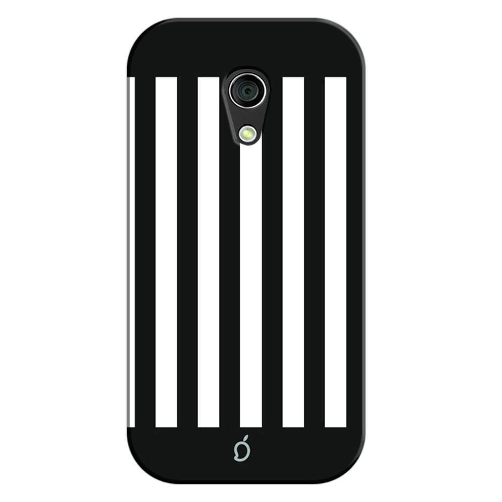 new arrival 8a956 a42b9 Mangomask Motorola Moto G2 Mobile Phone Case Back Cover Custom Printed Neon  Series Black Striped Seven