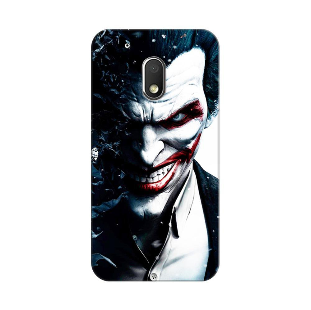 promo code c661b d9a86 Mangomask Motorola Moto G4 Play Mobile Phone Case Back Cover Custom Printed  Designer Series Red Eye Joker