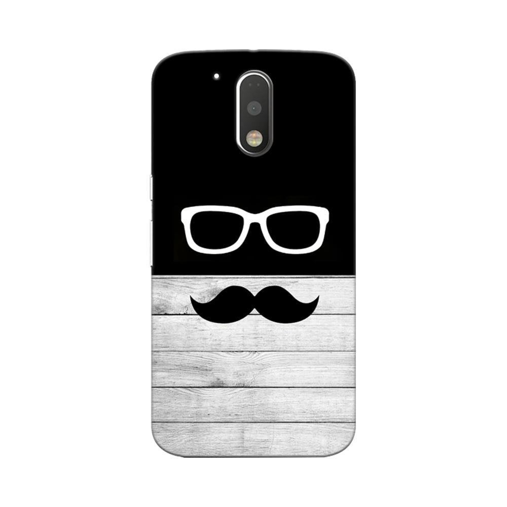 new products a3e4f b98ea Mangomask Motorola Moto G4 / G4 Plus Mobile Phone Case Back Cover Custom  Printed Designer Series Black And White Hipster