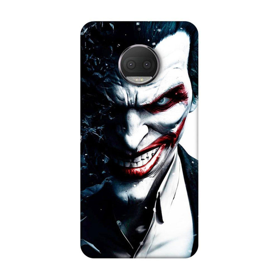 Mangomask Motorola Moto G5s Plus Mobile Phone Case Back Cover Custom Printed Designer Series Red Eye Joker