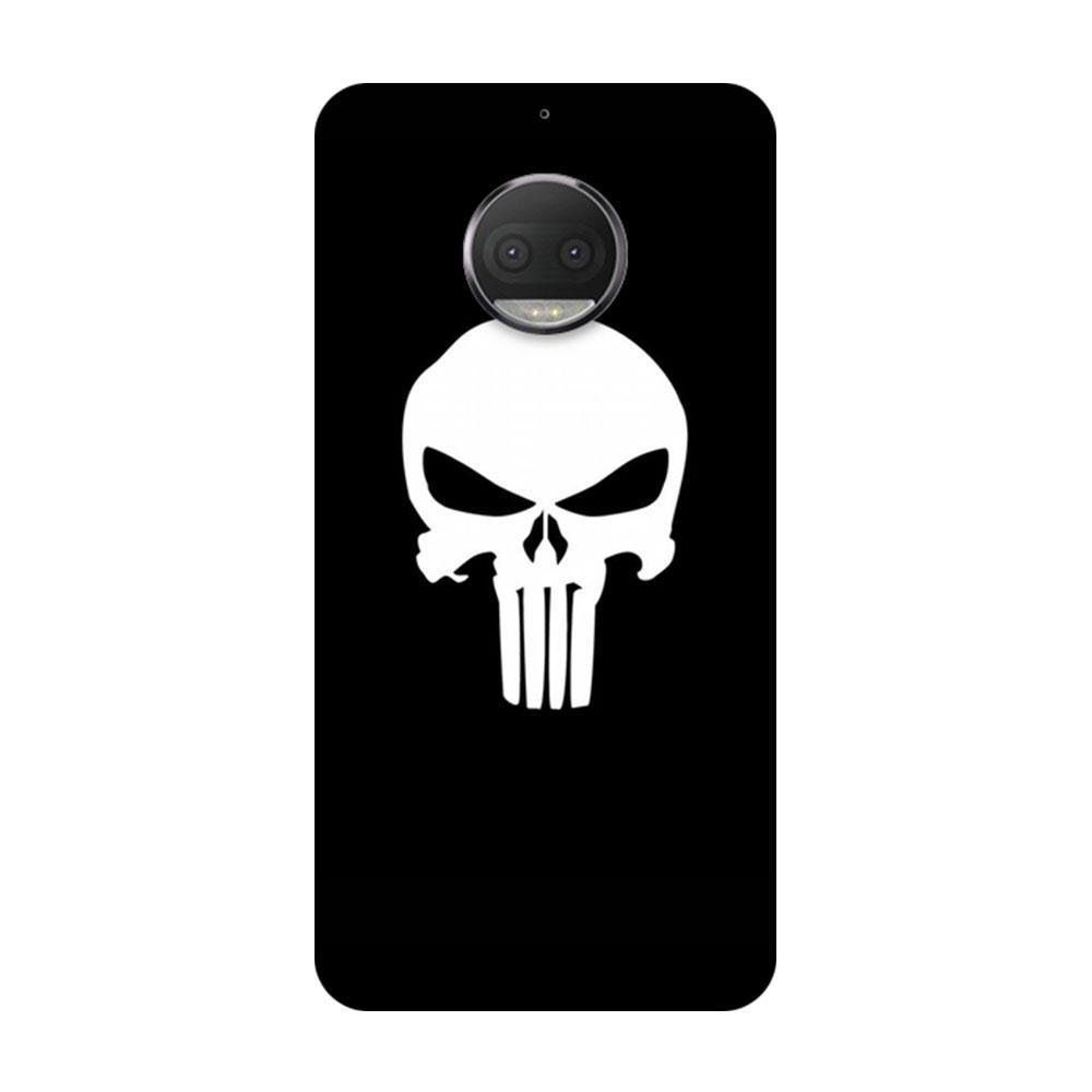 arrives ed983 4f8f0 Mangomask Motorola Moto G5s Plus Mobile Phone Case Back Cover Custom  Printed Designer Series Black And White Skull