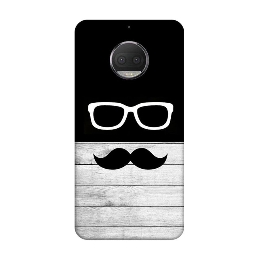 Mangomask Motorola Moto G5s Plus Mobile Phone Case Back Cover Custom Printed Designer Series Black And White Hipster