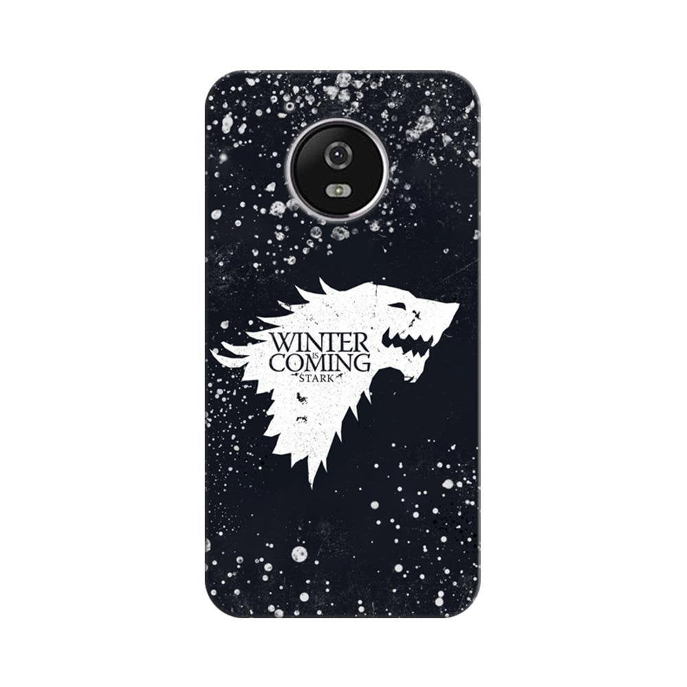 buy popular 3fabf 6769a Mangomask Motorola Moto G5 Mobile Phone Case Back Cover Custom Printed  Designer Series Winter Is Coming Game Of Thrones House Stark