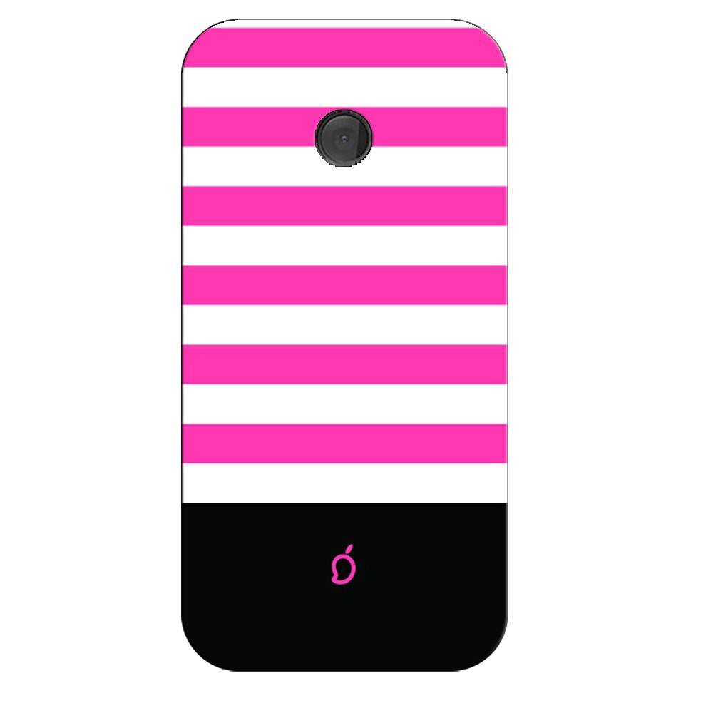 best service acc54 fc170 Mangomask Nokia Lumia 530 Mobile Phone Case Back Cover Custom Printed Neon  Series Brink pink Striped Four