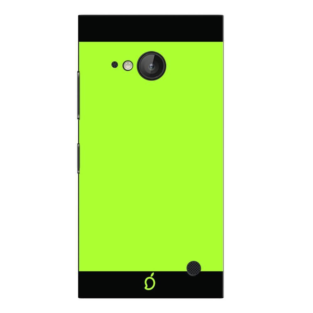 buy popular 0a26a 62635 Mangomask Nokia Lumia 730 Mobile Phone Case Back Cover Custom Printed Neon  Series Inchworm Green Striped Two