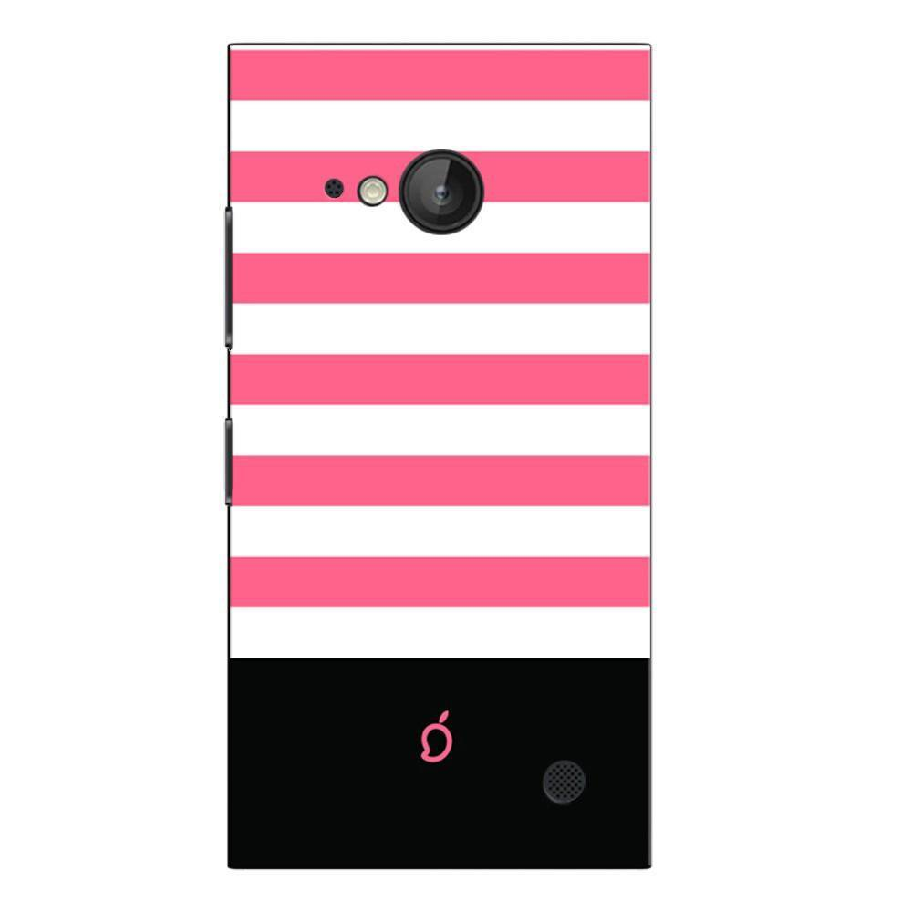 new style a44e5 811ee Mangomask Nokia Lumia 730 Mobile Phone Case Back Cover Custom Printed Neon  Series Coral Pink Striped Four