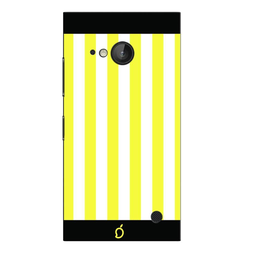 outlet store 1f652 9d505 Mangomask Nokia Lumia 730 Mobile Phone Case Back Cover Custom Printed Neon  Series Corn Yellow Striped Seven