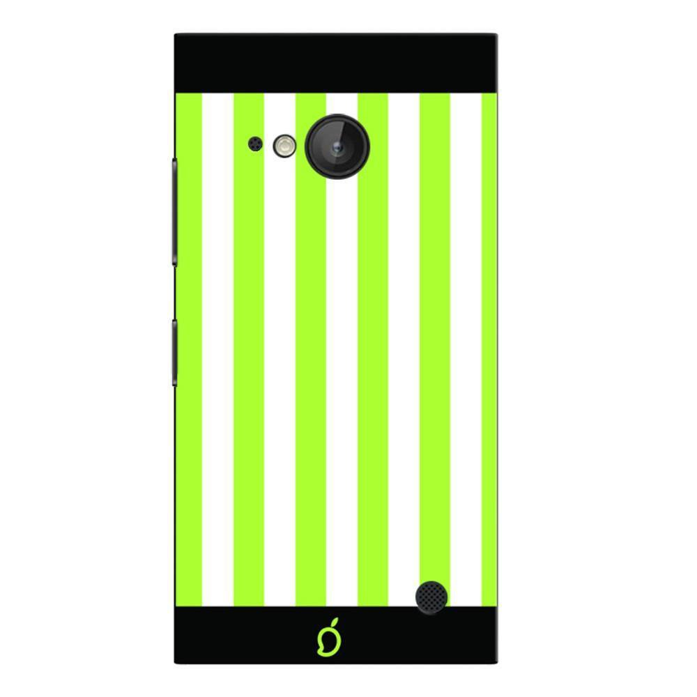 more photos 14bc9 20da6 Mangomask Nokia Lumia 730 Mobile Phone Case Back Cover Custom Printed Neon  Series Inchworm Green Striped Seven