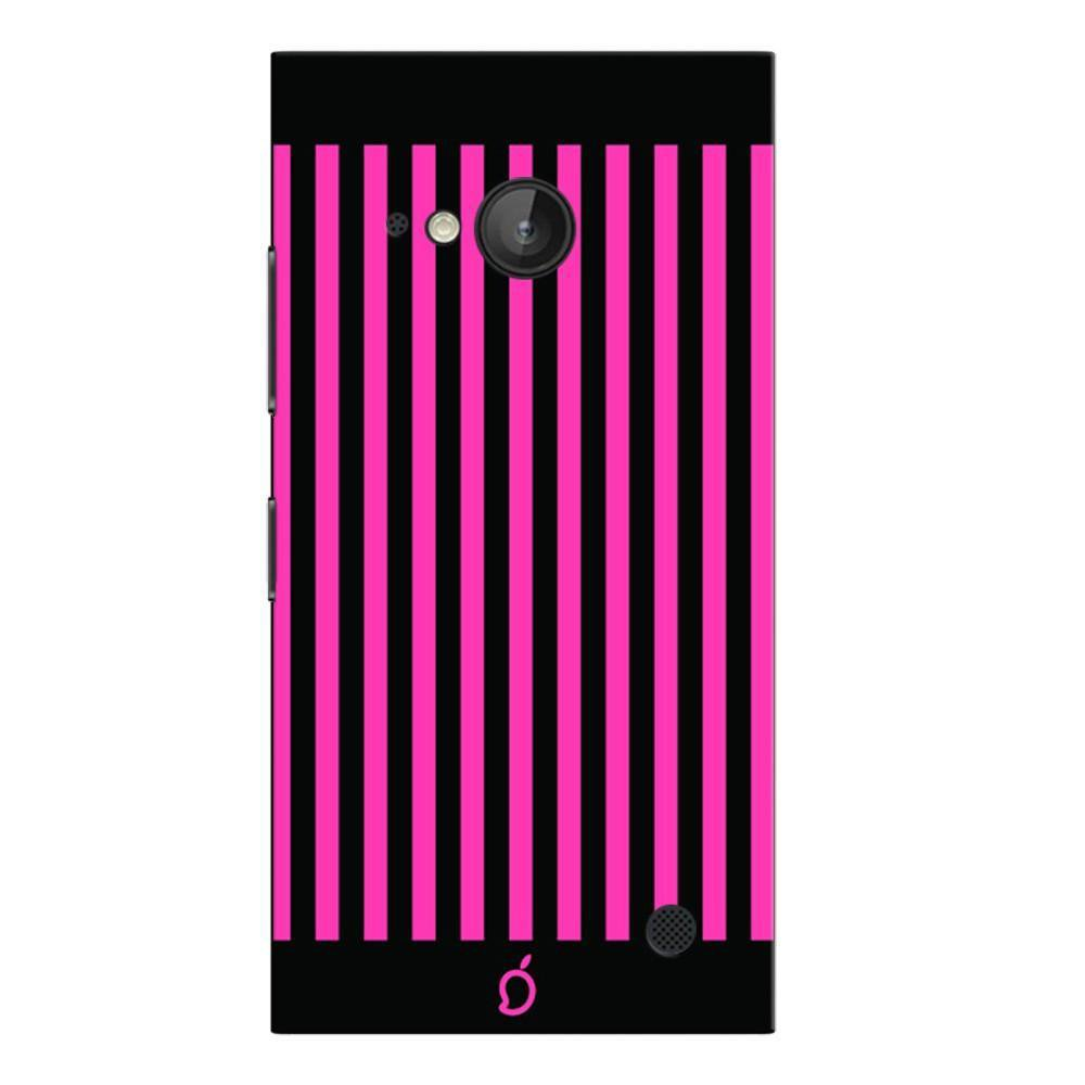 more photos f5315 b98bd Mangomask Nokia Lumia 730 Mobile Phone Case Back Cover Custom Printed Neon  Series Brink pink Striped Eight