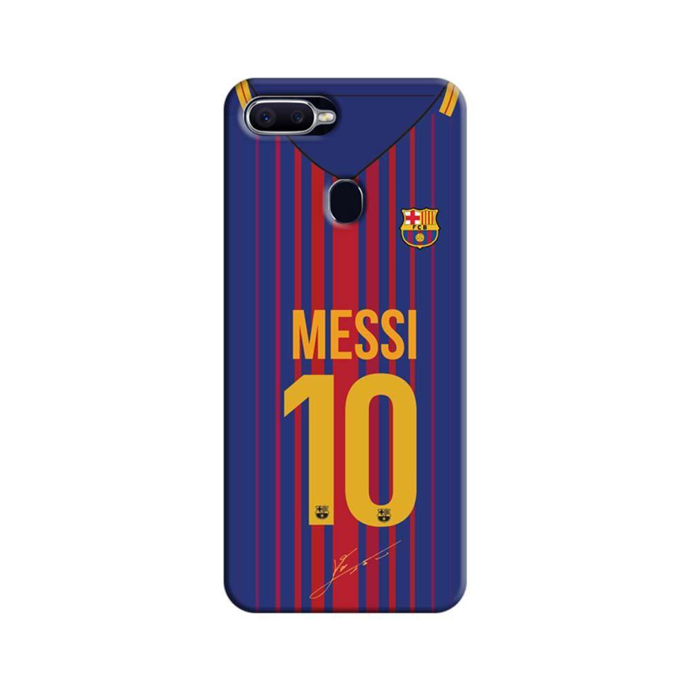 best cheap 0580a dc29a Mangomask Oppo F9 Pro Mobile Phone Case Back Cover Custom Printed Designer  Series Lionel Messi 10 Jersey 02