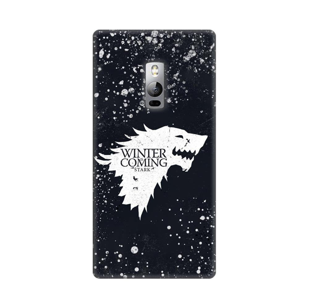 check out 7f862 a88f4 Mangomask OnePlus 2 Mobile Phone Case Back Cover Custom Printed Designer  Series Winter Is Coming Game Of Thrones House Stark