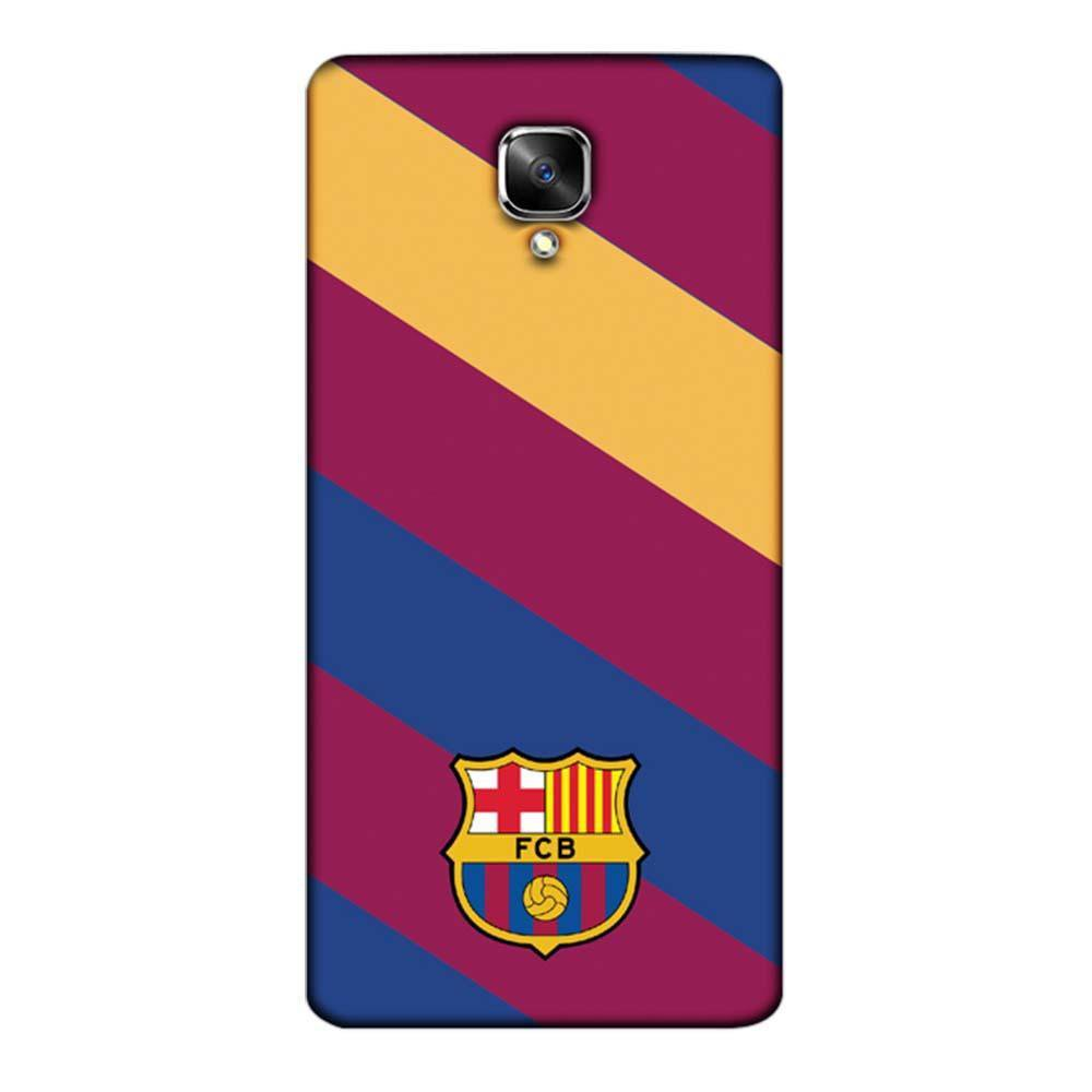 quality design 6b42c 57c2c Mangomask OnePlus 3 / OnePlus 3T Mobile Phone Case Back Cover Custom  Printed Designer Series Barcelona Logo