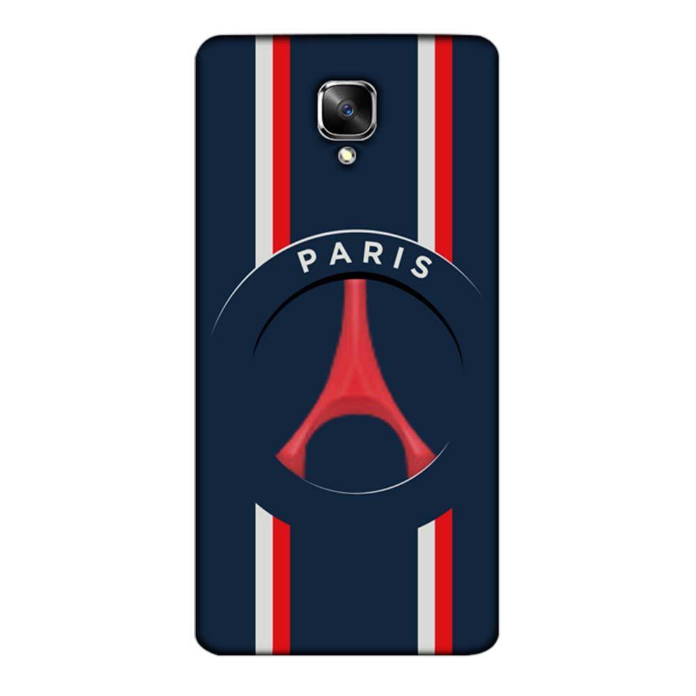 finest selection 51155 e2aee Mangomask OnePlus 3 / OnePlus 3T Mobile Phone Case Back Cover Custom  Printed Designer Series Paris Football Logo
