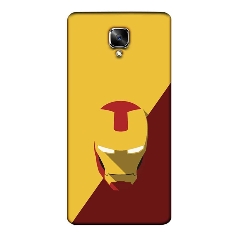 buy online c6174 b5874 Mangomask OnePlus 3 / OnePlus 3T Mobile Phone Case Back Cover Custom  Printed Designer Series Iron Man 02