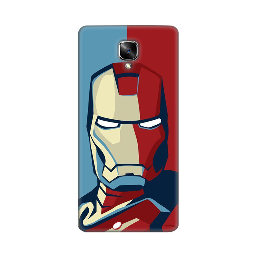 huge selection of 7c19c d2524 Mangomask OnePlus 3, OnePlus 3T Mobile Phone Case Back Cover Custom Printed  Designer Series Comic Iron Man