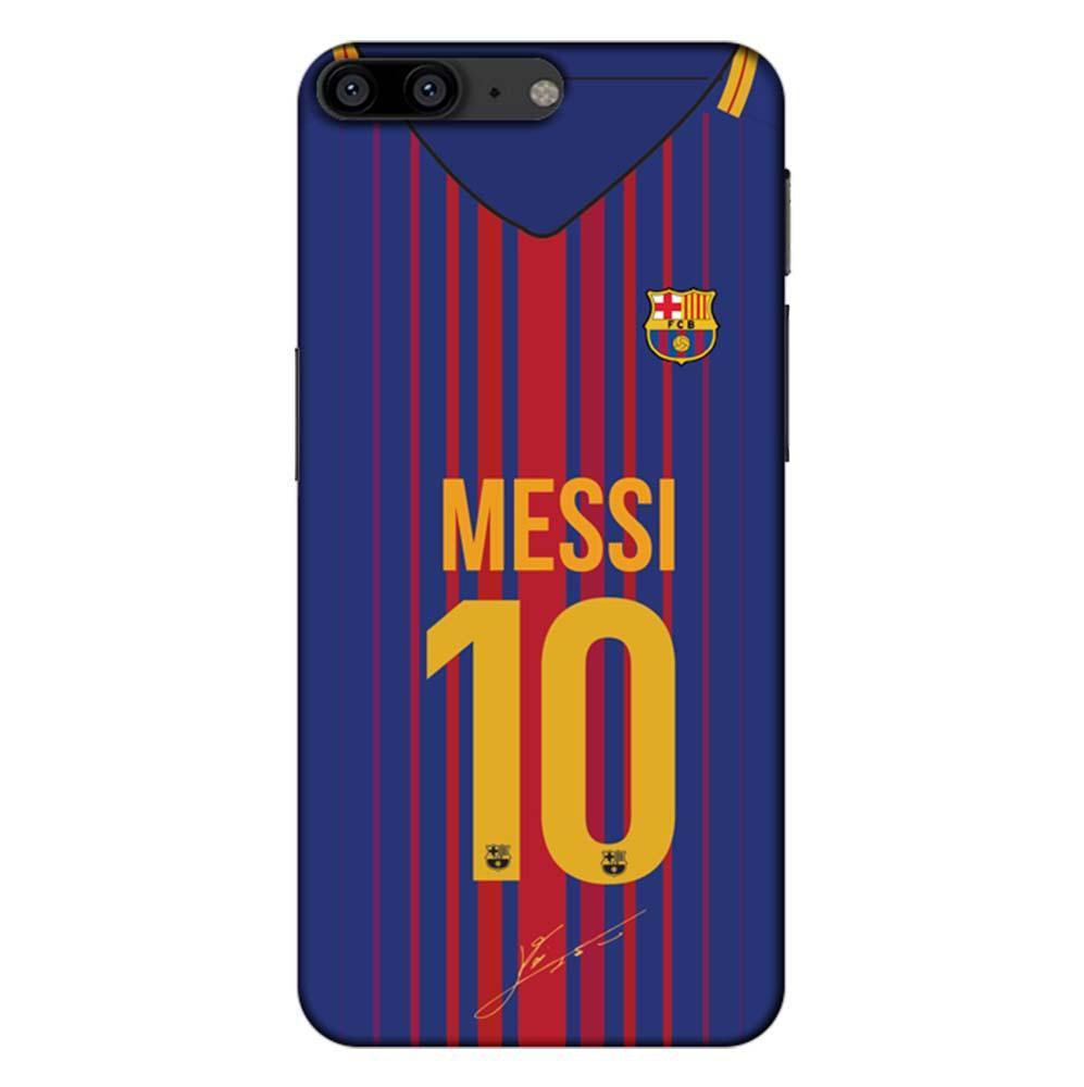 size 40 5d1bf 65672 Mangomask OnePlus 5 Mobile Phone Case Back Cover Custom Printed Designer  Series Lionel Messi 10 Jersey 02