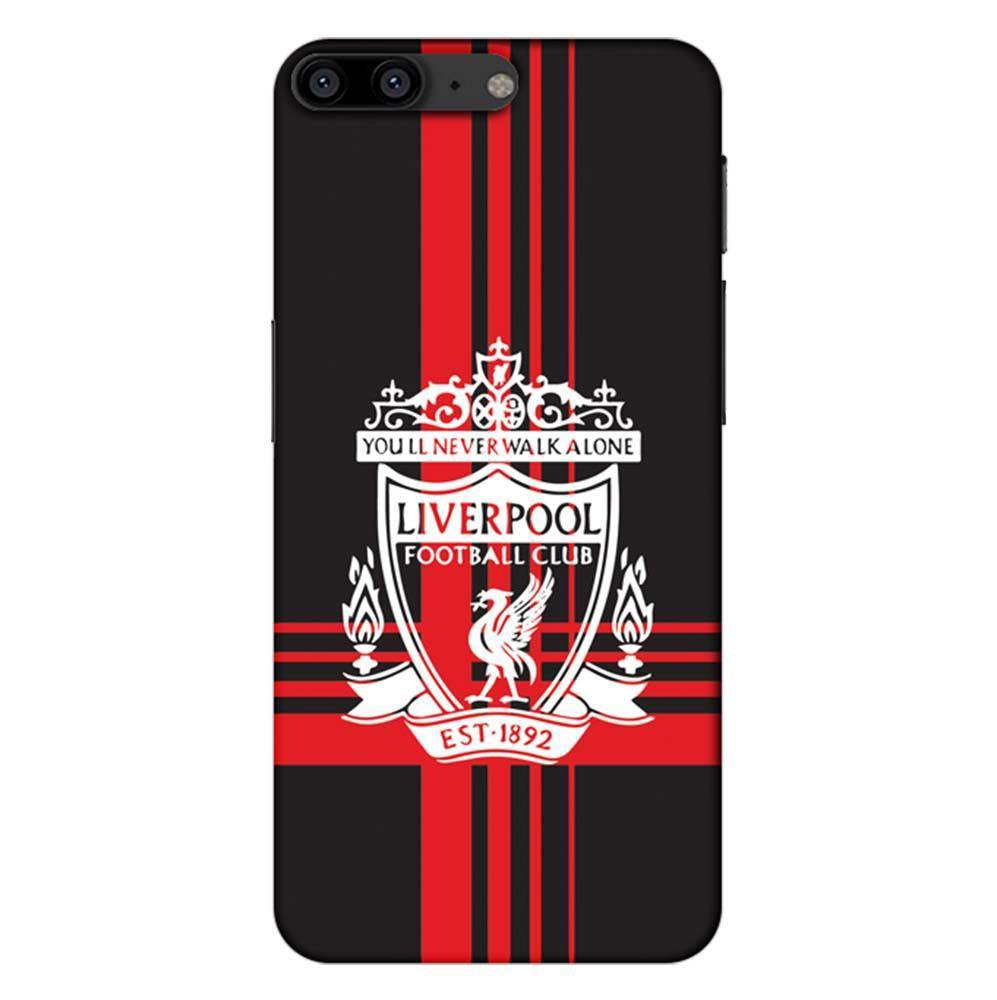 Mangomask OnePlus 5 Mobile Phone Case Back Cover Custom Printed Designer  Series Liverpool FC Logo 02