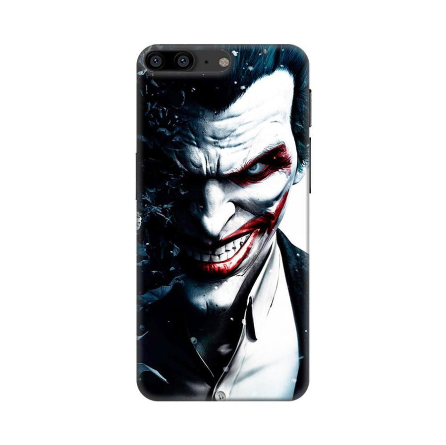 Mangomask OnePlus 5 Mobile Phone Case Back Cover Custom Printed Designer Series Red Eye Joker
